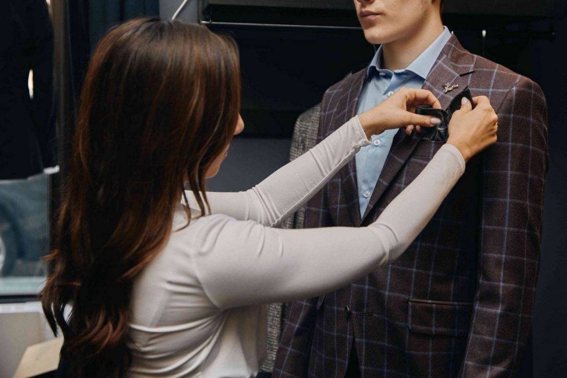 custom suiting in Hamilton at Charles and Hunt men's clothing store